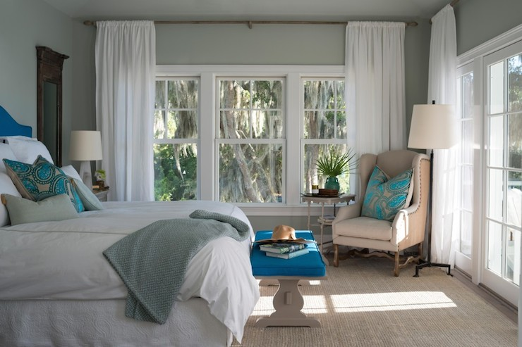 Gray Wisp - Transitional - bedroom - Benjamin Moore Gray ...