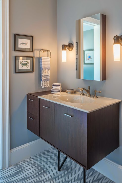 gray wisp  transitional  bathroom  benjamin moore gray wisp,
