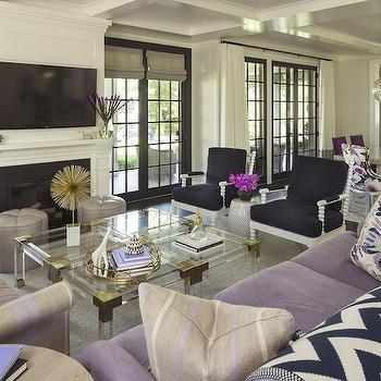 Jacques Cocktail Table, Contemporary, living room, Martha O'Hara Interiors