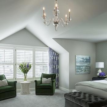 George II Chandelier, Transitional, living room, Benjamin Moore Balboa Mist, Martha O'Hara Interiors