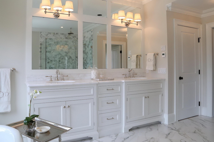 Double sink bathroom vanity restoration hardware Restoration hardware bathroom