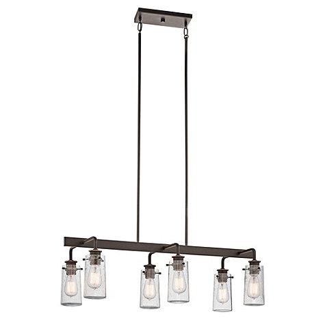 Ellison Bronze Rectangular Chandelier