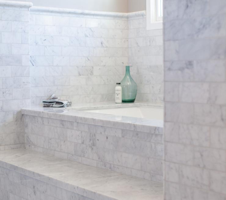 Bathtub Steps - Transitional - bathroom - Rafterhouse