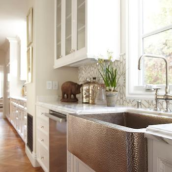 Nice Hammered Apron Sink
