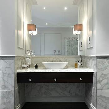 Vanity Nook, Modern, bathroom