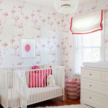 Pink Nursery, Transitional, nursery, PS Interiors Group