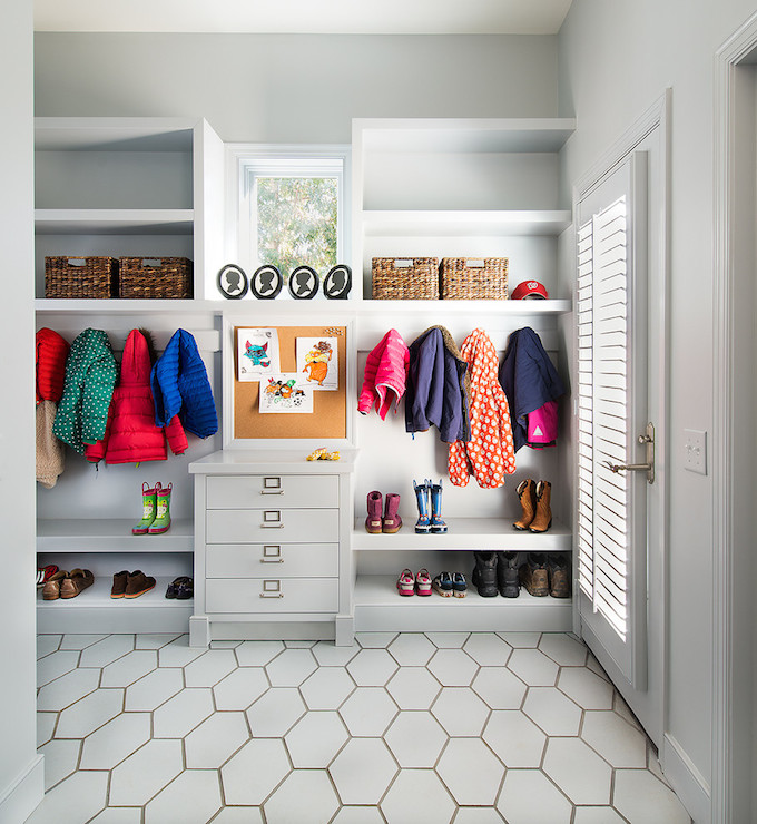 Mudroom Cork Board Design Ideas