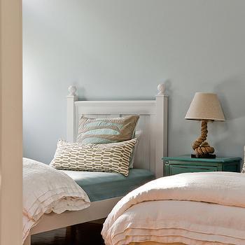 Kids Beach Bedroom, Cottage, girl's room, Jennifer Palumbo