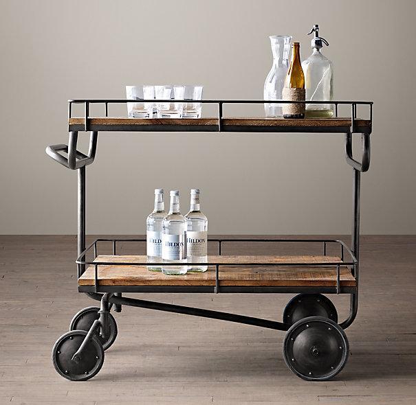 Collins Bar Cart Crate And Barrel