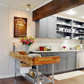 Doorless Kitchen Cabinets Design Ideas