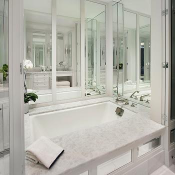 Mirrored Bathtub