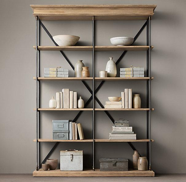 Decker Double Bookcase, Tall - Anthropologie.com