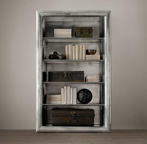 Aviator Silver Single Shelving