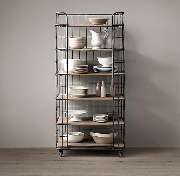 Merveilleux Caged Bakers 6 Shelves Rack