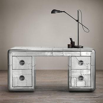 blackhawk silver desk