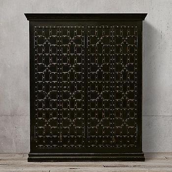 17th C. Castell� 4-Door Cabinet I Restoration Hardware