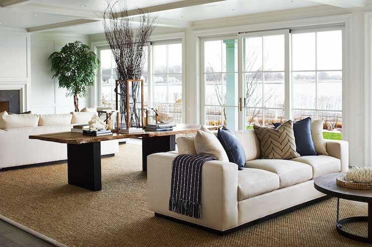 Split Living Rooms - Transitional - living room - Lillian August