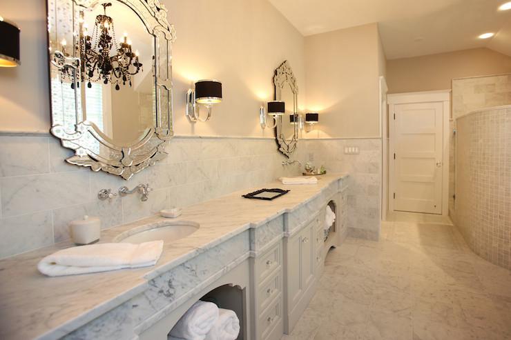 Glamorous Master Bathroom Design Ideas
