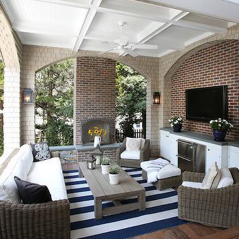Outdoor Refrigerators, Cottage, deck/patio, Beach Dwellings Interior