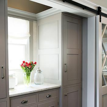 Sliding pantry doors design ideas for Sliding pantry doors