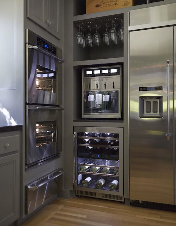 Home Wine Dispenser - Transitional - kitchen - NV Design