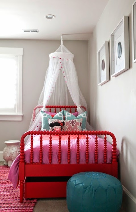 Tulle Bed Canopy