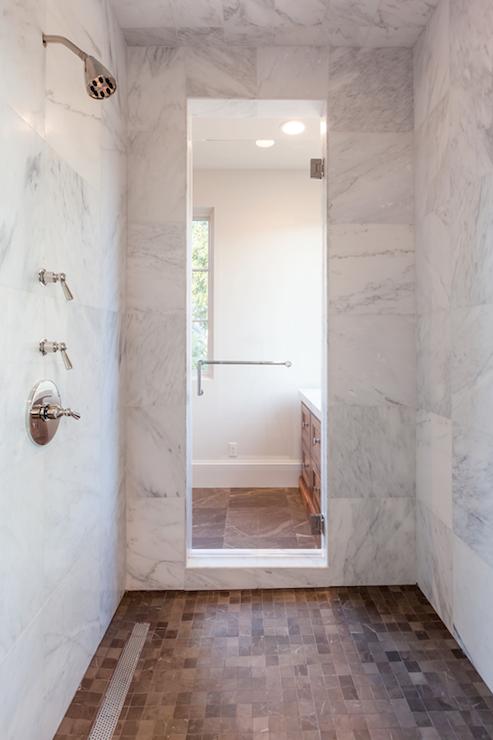 Chevron Tiles Contemporary Bathroom Allwood Construction