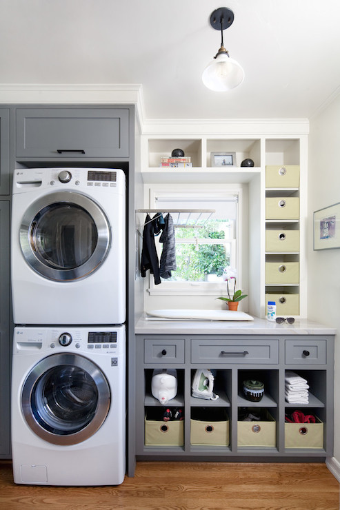 Laundry Room Cubbies, Contemporary, laundry room, Jessica Risko Smith Interior Design