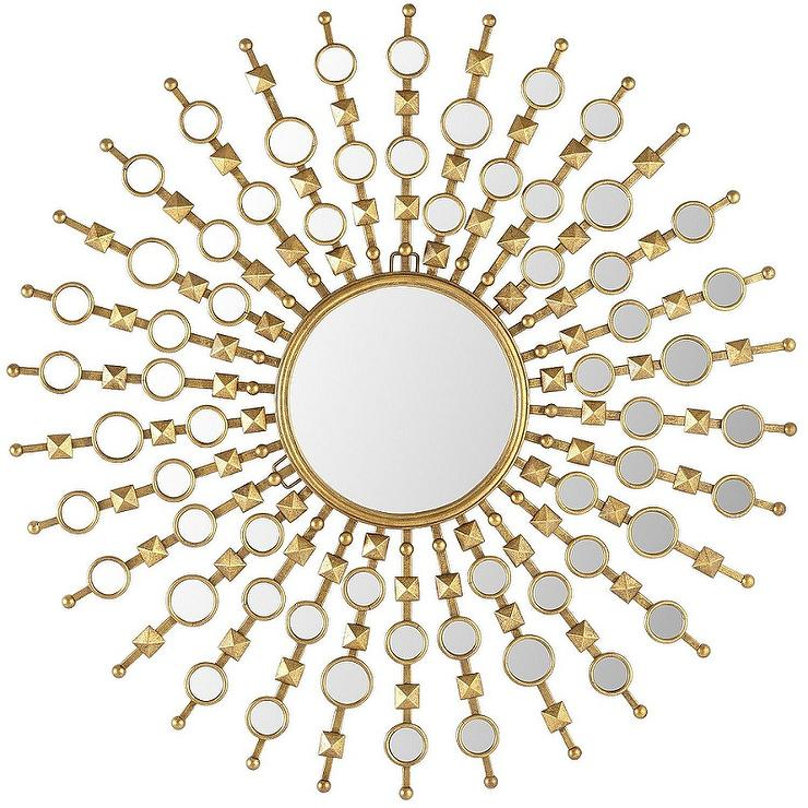 Pier 1 golden nova mirror for Decorative mirrors for less
