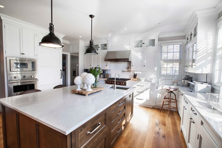 What Color Countertops For White Kitchen Cabinets