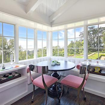 Window Seat Banquette, Eclectic, kitchen, Jessica Risko Smith Interior Design