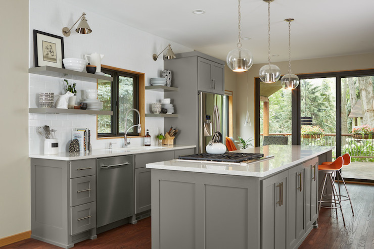 Paint gallery benjamin moore chelsea gray paint colors for Chelsea gray kitchen cabinets