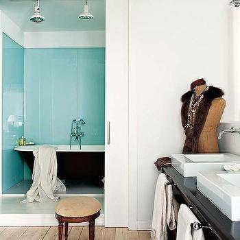 Bathroom Pocket Doors, Vintage, bathroom, Dalla Polvere