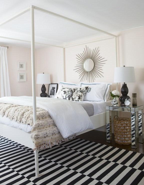 gray trellis rug contemporary bedroom the every girl