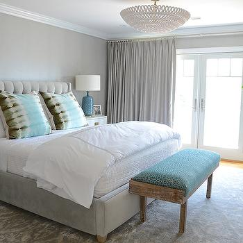 Gray Bedroom Colors - Transitional - bedroom - Sherwin Williams ...