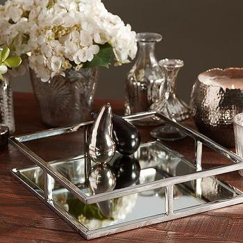 Nickel Square Tray I Pottery Barn