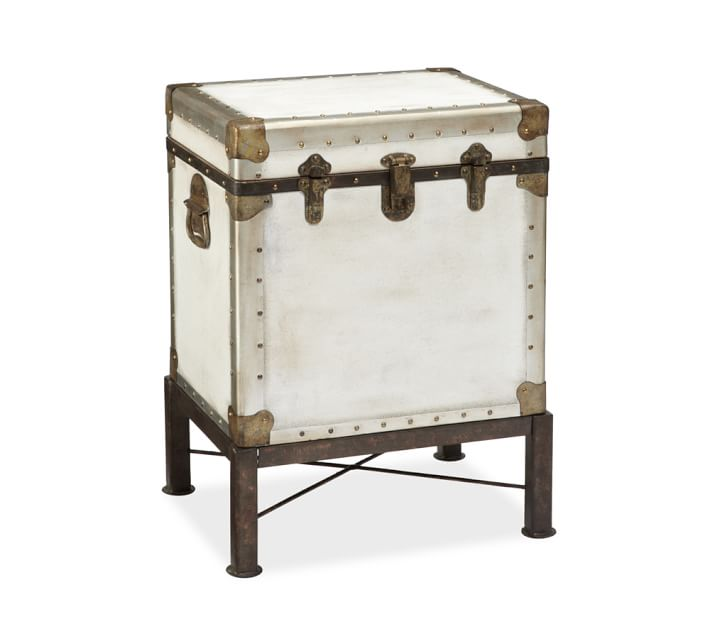 Pottery Barn Ludlow Trunk Side Table View Full Size