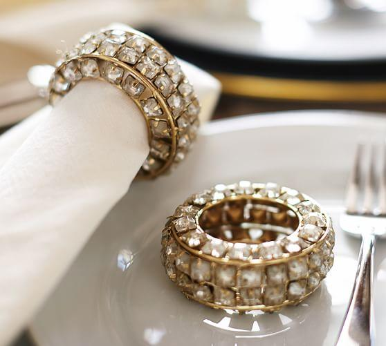 Bracelet Gold Napkin Ring