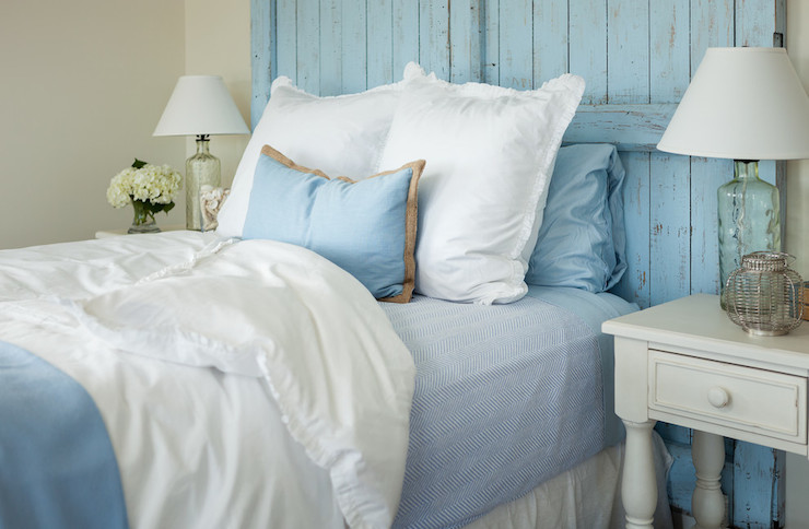 Door Headboard Cottage Bedroom Js Interiors