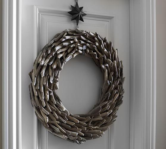 Grey Driftwood Wreath