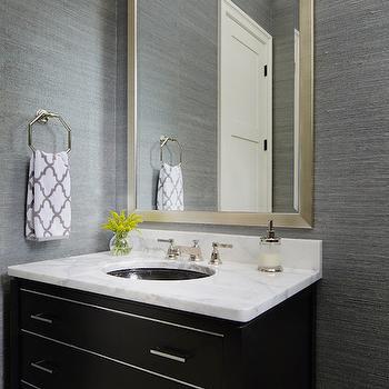 Gray Bathroom - Contemporary - bathroom - LDa Architects