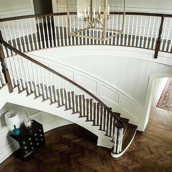 Apothecary floor lamp design ideas wood herringbone floors mozeypictures Gallery