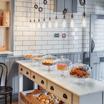 Freestanding kitchen island design ideas for French bistro kitchen ideas