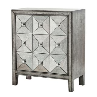 Madison Park Antique Silver Apothecary Chest, Overstock.com