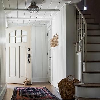 Knot Door Stopper, Cottage, entrance/foyer, Kate Marker Interiors