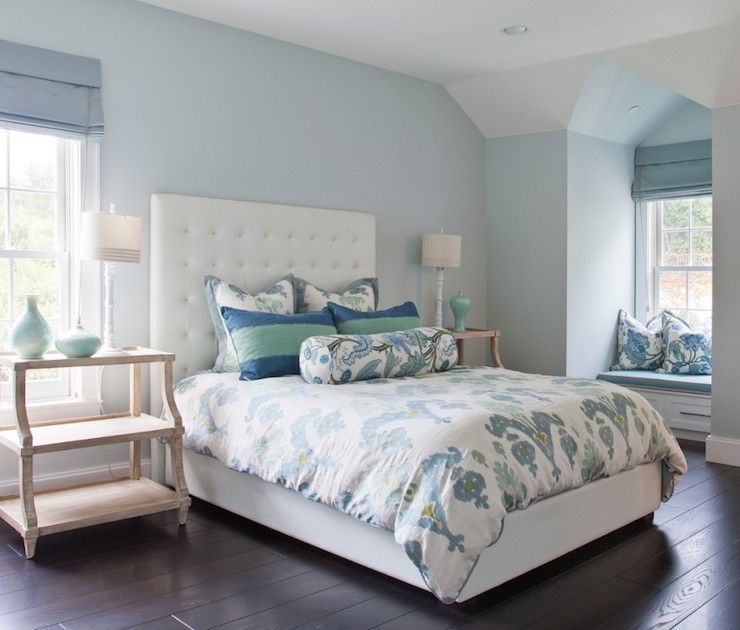 Blue Bedroom Ideas - Transitional - bedroom - Brooke Wagner ...