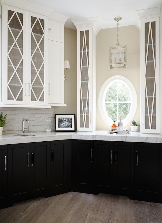 Tuxedo Cabinets Transitional Kitchen Summit