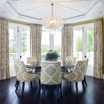 Octagon Tray Dining Room Ceiling Design Ideas
