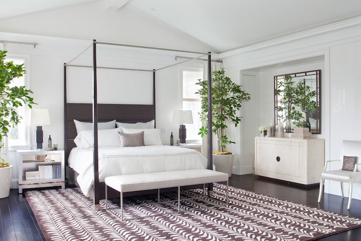 Black Canopy Bed & Black Canopy Bed - Transitional - bedroom - RT Abbott Construction
