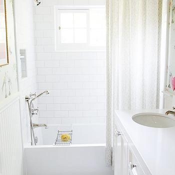 River Rock Backsplash Cottage Bathroom Benjamin